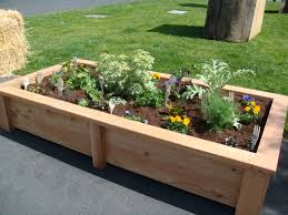 Small Picture How To Build An Above Ground Garden Bed Tutorial W And Design