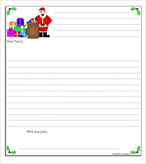 Free Letter From Santa Word Template Letter From Template Word Photographer A S Letterhead To