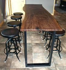 wooden bar table hire sydney