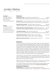 Sample Resume Professional Autobiography Examples Awesome Sample