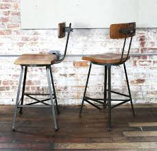 industrial bar stools with backs awesome magnificent outstanding wood wooden bar stools with intended for industrial