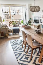 decorating ideas for open concept living room and kitchen beautiful house tour a sophisticated mixed