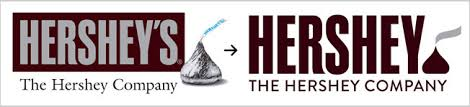 hershey company logo. Contemporary Company Just Chocolate Bars And To Attract A Broader Customer Base The Hershey  Company Is Moving Away From The 3D Styling Of Its Old Logo Simpler For Logo E