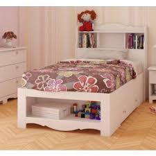 twin bed with storage and bookcase headboard. Fine Storage Dixie Storage Bed And Optional Bookcase Headboard With Twin And E