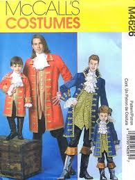 Pirate Costume Pattern New McCall's 48 Men's Formal Dressy Pirate Costume Pattern 4848