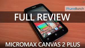 Micromax A110Q Canvas 2 Plus Full ...