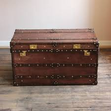 antique trunks uk luggage vintage leather trunk steamer coffee table bespoke in