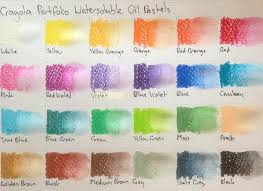 Oil Pastels Crayola Portfolio Watersoluble Oil Pastels
