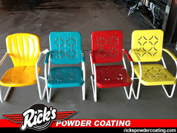 Outdoors Cafe Chairs From CB2  GardenistaPowder Coated Outdoor Furniture