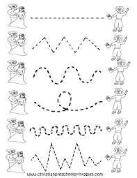 Collections of Free Worksheets For Preschoolers Trace, - Easy ...