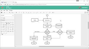 Draw Chart Online Draw Process Flow Chart Online Good Process Flow Diagram