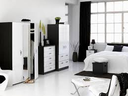 Black And White Bedroom With Brown Furniture Raya Furniture - Bedroom with white furniture