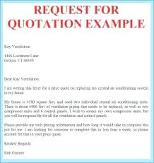 Sample For Quotation Letter New Template Request For Price Quote ...