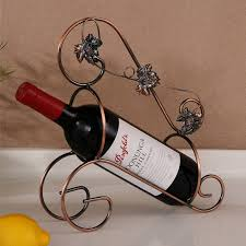 Decorative Wine Bottle Holders Innovational Ideas Single Wine Bottle Holder Magnificent Online 20