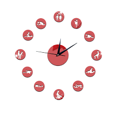 full image for fascinating fun wall clock 116 fun kitchen wall clocks uk diy fun