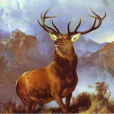 monarch of the glen 1851 sir edwin landseer this british stag has sold a lot of insurance