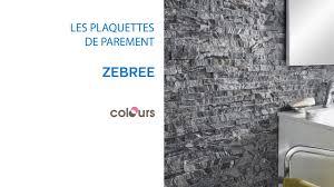 Plaquette De Parement Zebree Colours 679490 Castorama Youtube