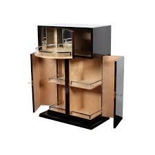 Art Deco Bar Cabinet Maple B007 Cygal Art Deco Gmbh