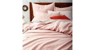 flax linen duvet cover flax linen duvet cover and shams originally millennial pink decor home photo