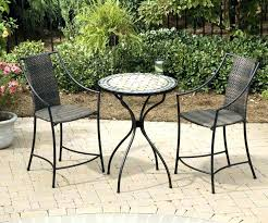 large round patio table round patio table and chairs high patio set with small round patio