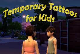 временные татуировки для детей мод от Scumbumbo