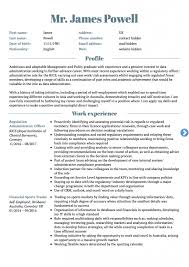 Canada Resume Format Template Canadian Cv Free Pdf Style