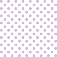 Light Purple And White Polka Dots Seamless Pattern Pastel Lavender Polka Dots White Background