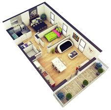 amazing architecture 2 bedroom house plans designs 3d house unique 3d house designing