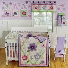 outstanding girl baby nursery room design ideas with girl baby bedding creative purple girl baby