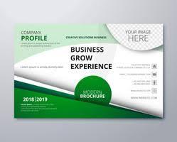 Green Brochure Template Green Brochure Free Vector Art 14539 Free Downloads