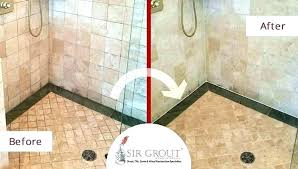 stone shower cleaner how