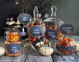 halloween candy buffet labels. Plain Halloween On Halloween Candy Buffet Labels