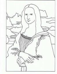 Small Picture famous artwork coloring pages Coloring pages Pinterest