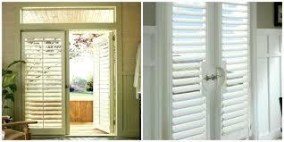 plantation shutter sliding glass door large size of how to install plantation shutters on sliding doors