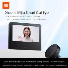 NEW <b>Xiaomi</b> Mijia <b>Smart Cat</b> Eye Wireless Video Doorbell with ...