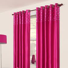 Amazing Expand. Glam Fuchsia Eyelet Curtain