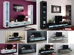 wall cabinets living room furniture. Image Is Loading High-Gloss-Living-Room-Furniture-TV-Stand-Wall- Wall Cabinets Living Room Furniture T