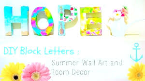 wooden letters for wall block letters for wall summer themed block letters for wall decor nursery
