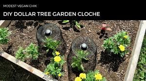 diy dollar tree garden cloche two