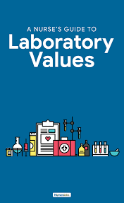 Normal Lab Values Reference Guide For Nursing And Nclex