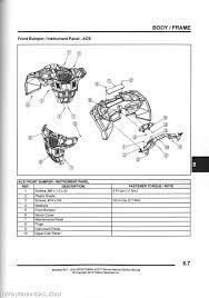 Polaris Atv Drive Belt Chart 2014 2016 Polaris Sportsman Ace Paper Atv Service Manual