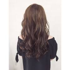 透明感のある暗髪ハイライトカラー Cecil Hair 梅田店セシルヘアー
