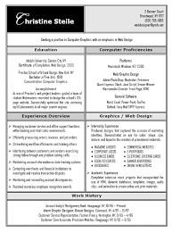 Awesome Resume Examples Simple Graphic Design Resume Example Web Design User Interface