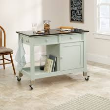 Sauder Kitchen Furniture Original Cottage Mobile Kitchen Island 414385 Sauder