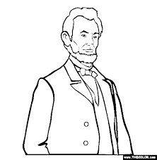 Small Picture Abraham Lincoln Online Coloring Page