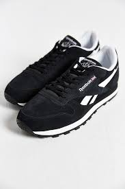 reebok classic leather suede running sneaker