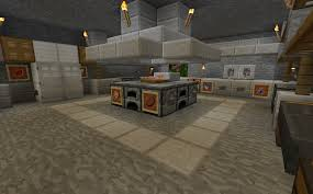 Minecraft Kitchen Xbox Minecraft Projects Minecraft Kitchen With Functional Food Dispensers
