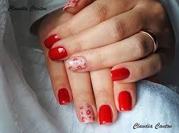 Nehty Gelové Cervene