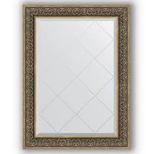 Купить <b>Зеркало 79х106 см вензель</b> серебряный Evoform ...