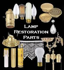 lamp parts at the antique lamp co